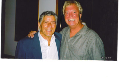 Backstage with Tony Bennett, Bass Hall, Austin 2003