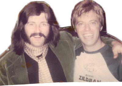 Butch with John Bonham 70's