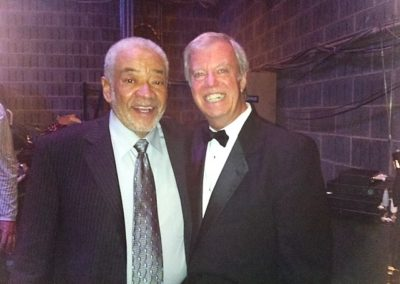 With Bill Withers - West Virginia Hall of Fame