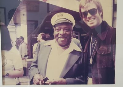 With Chief, the great Count Basie