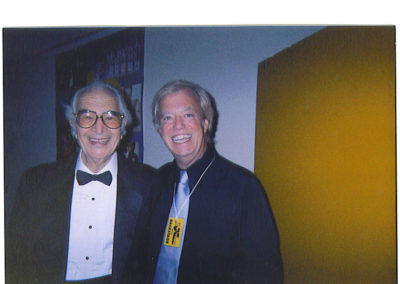 With Dave Brubeck 2004